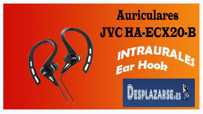 Amaon auriculares JVC HA-ECX20-B