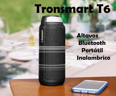 Tronsmart T6 altavoz bluetooth inalambrico