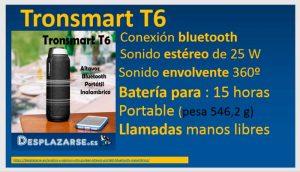 Tronsmart-T6-caracteristicas-tecnicas