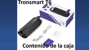 Tronsmart-T6-contenido-de-la-caja
