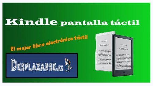 kindle pantalla tactil