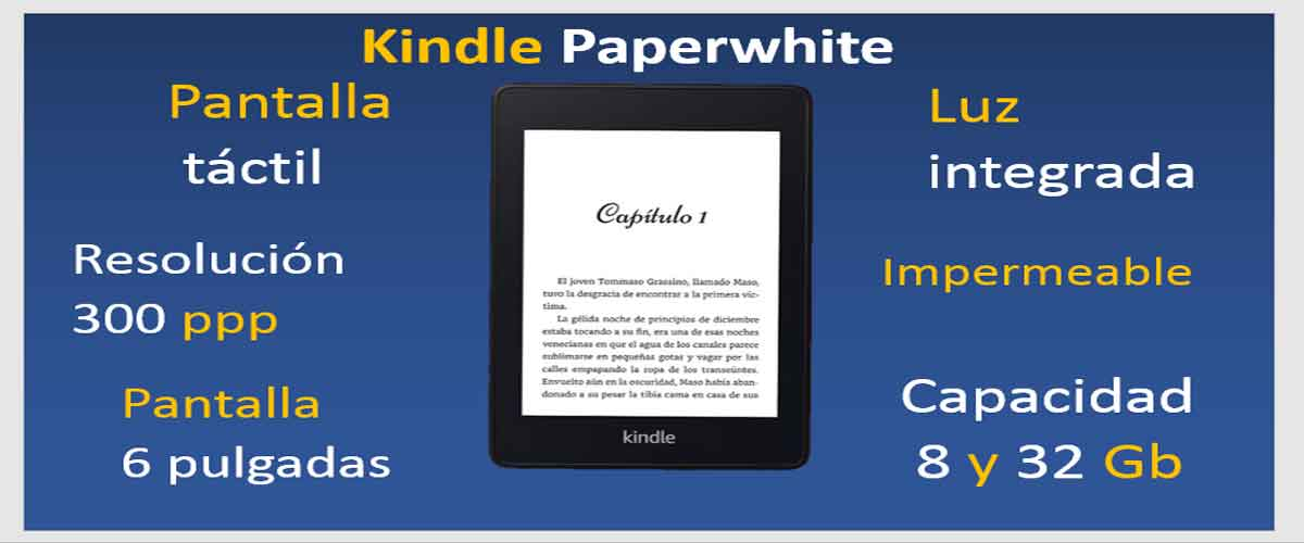 kindle-paper-white-caracteristicas