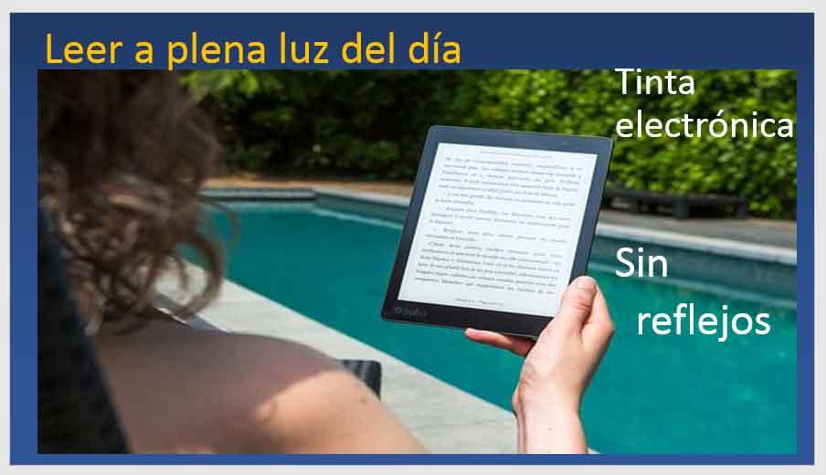 kindle-paper-white-leer-sin-reflejos-gracias-a-su-tinta-electronica