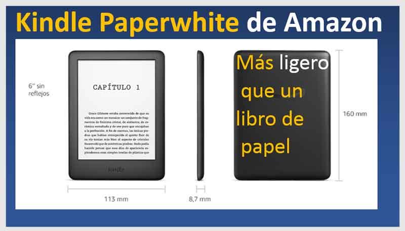 kindle-paper-white-peso-mas-ligero-que-un-libro-de-papel
