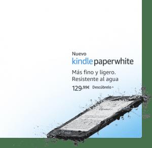 nuevo kindle paperwhite resitente al agua