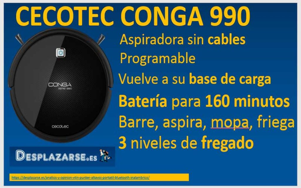 Cecotec-Conga-990-caracteristicas-tecnicas