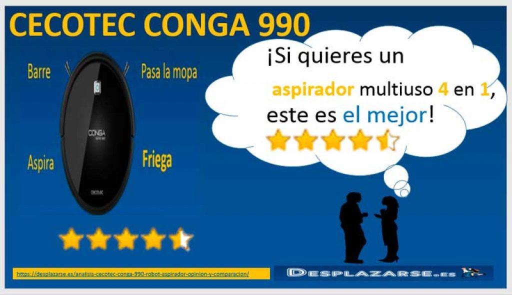 Cecotec-Conga-990-el-mejor-aspirador-multiuso-4-en-1
