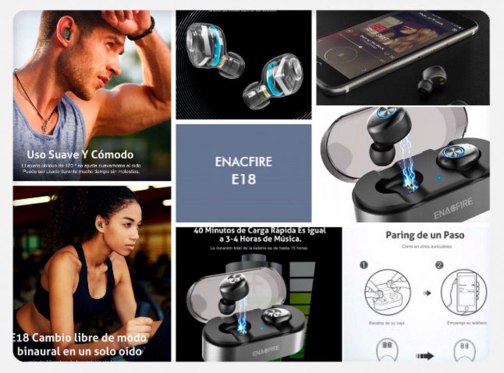 2c5a178e138 Análisis y opinión sobre Auriculares Bluetooth con micrófono ...