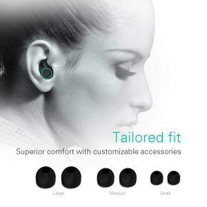 Holyhigh Auriculares Bluetooth Inalámbricos con micrófono