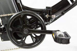 MOMA bicicleta eléctrica plegable cadena