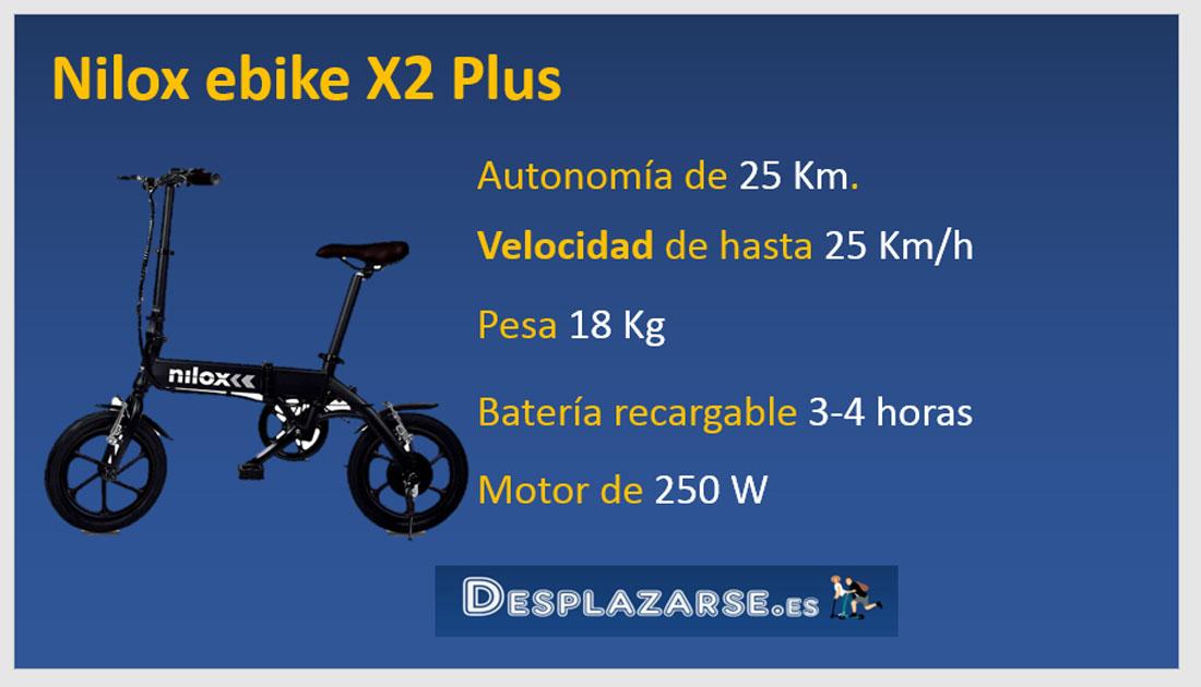 Nilox-ebike-X2-Plus-bicicleta-electrica-plegable-guia-de-compra