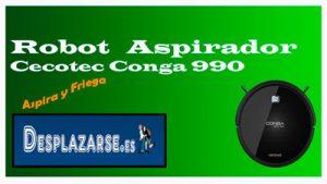 cecotec Conga robot Aspirador 990