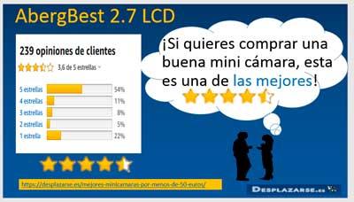 AbergBest-2.7-LCD-opiniones-de-usuarios