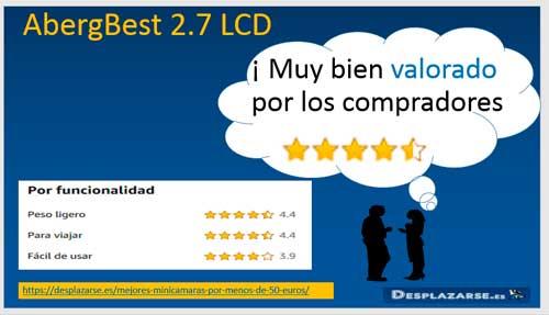 AbergBest-2.7-LCD-valoraciones-de-usuarios