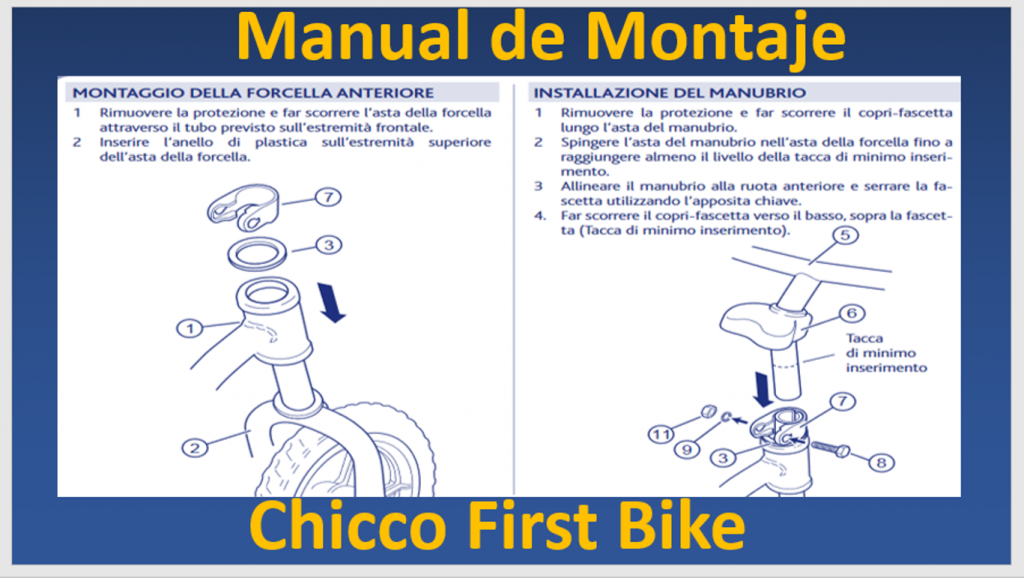 Chicco-First-Bike-manual-de-instrucciones