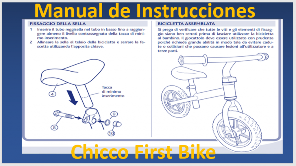 Chicco-First-Bike-manual-de-montaje