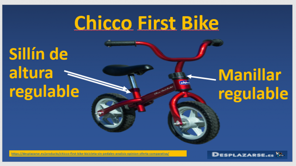 Chicco-first-bike-sillin-regulable-y-manillar-regulable