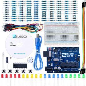ELEGOO Conjunto Básico de Iniciación a Arduino UNO