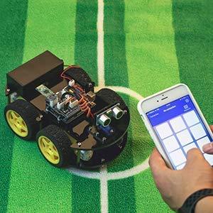 ELEGOO UNO Proyecto Kit de Coche Robot Inteligente bluetooth