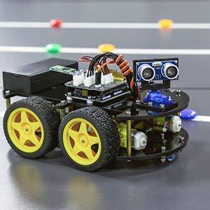 ELEGOO UNO Proyecto Kit de coche robot que sigue lineas