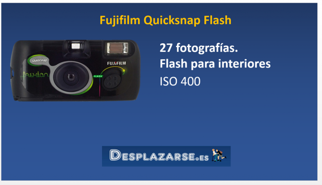Fujifilm-Quicksnap-Flash-camara-desechable