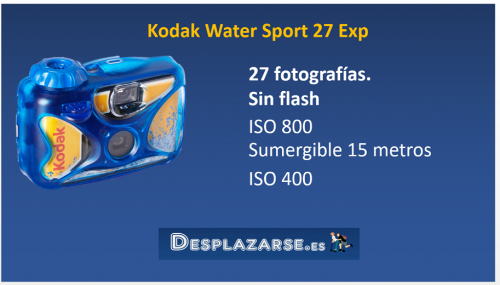 Kodak-Water-Sport-27-Exp-camara-desechable-sumergible