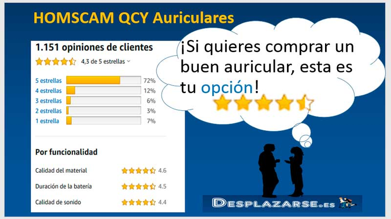 HOMSCAM-QCY-opiniones