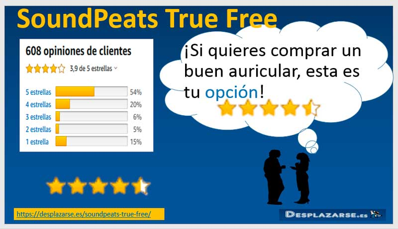 SoundPeats-True-free-opiniones