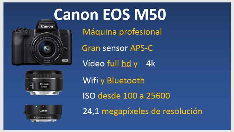 canon-eos-M50-caracteristicas-tecnicas