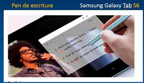 galaxy-tab-s6-pen-para-escritura