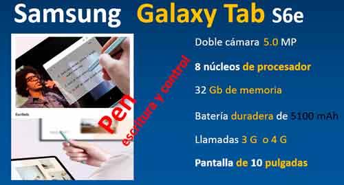 samsung-galaxy-tab-s6-con-pen-escritura-y-control