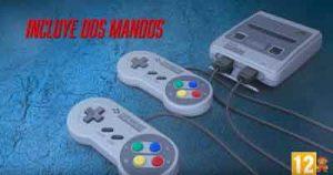 nintendo-classic-mini-super-nes-con-dos-mandos