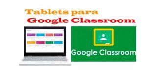 tablets-para-utilizar-en-google-classroom